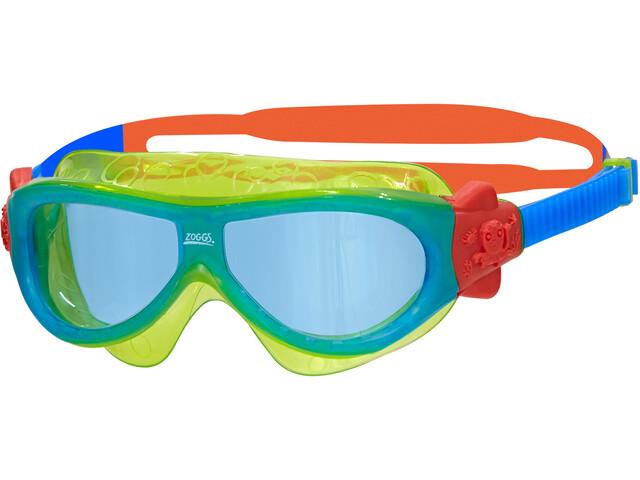 Zoggs Phantom Svømmebriller Børn, green/blue/tint